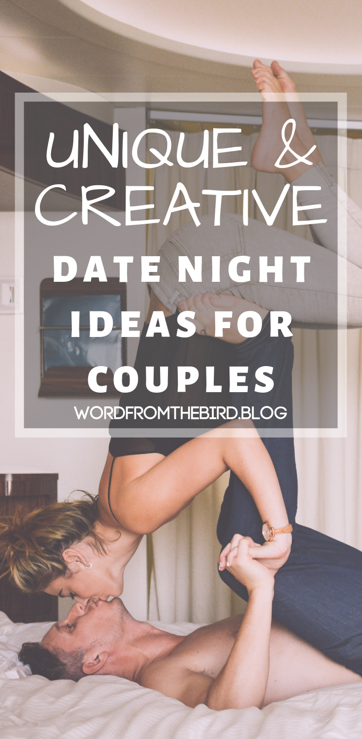 60 of the most unique and creative date night ideas for couples. #marriage #datenights # ideas #creative #unique #new #fresh #couples #forcouples #forher #forhim #forwomen #formen #relationship advice #advice #tips #relationships #love #goals #quotes