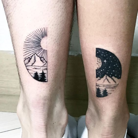 sun-and-moon-tattoo-ideas-for-couples