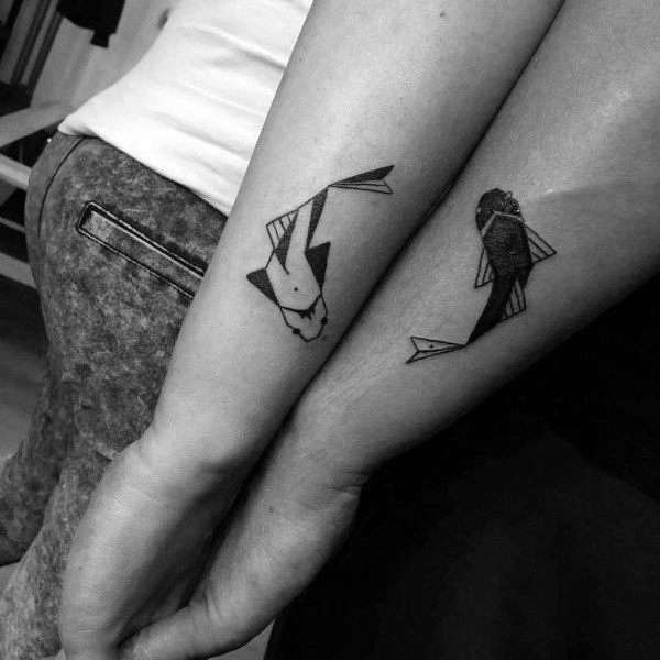best couple tattoos that are not cheesy #tattoos #tattooideas #couples