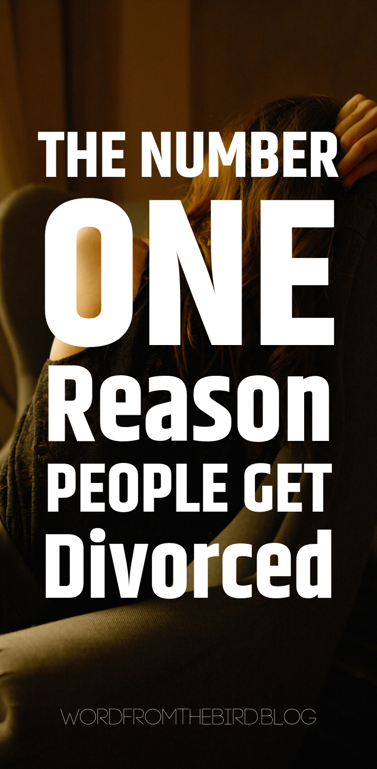 There are obvious reasons people get divorced. But there is a common thread that all of those reasons have in common. Find out what the core reason people get divorced today. #marriage #divorce #help #advice #quotes #separation #relationshipadvice
