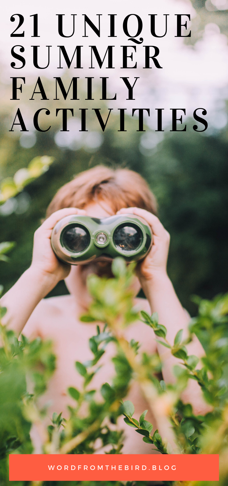 Check out these incredible and fun activities you can do with your family this summer that are outdoor, creative, and fun for the whole family. #family #fun #unique #list #familytime #kids #activities #summer #thingstodo