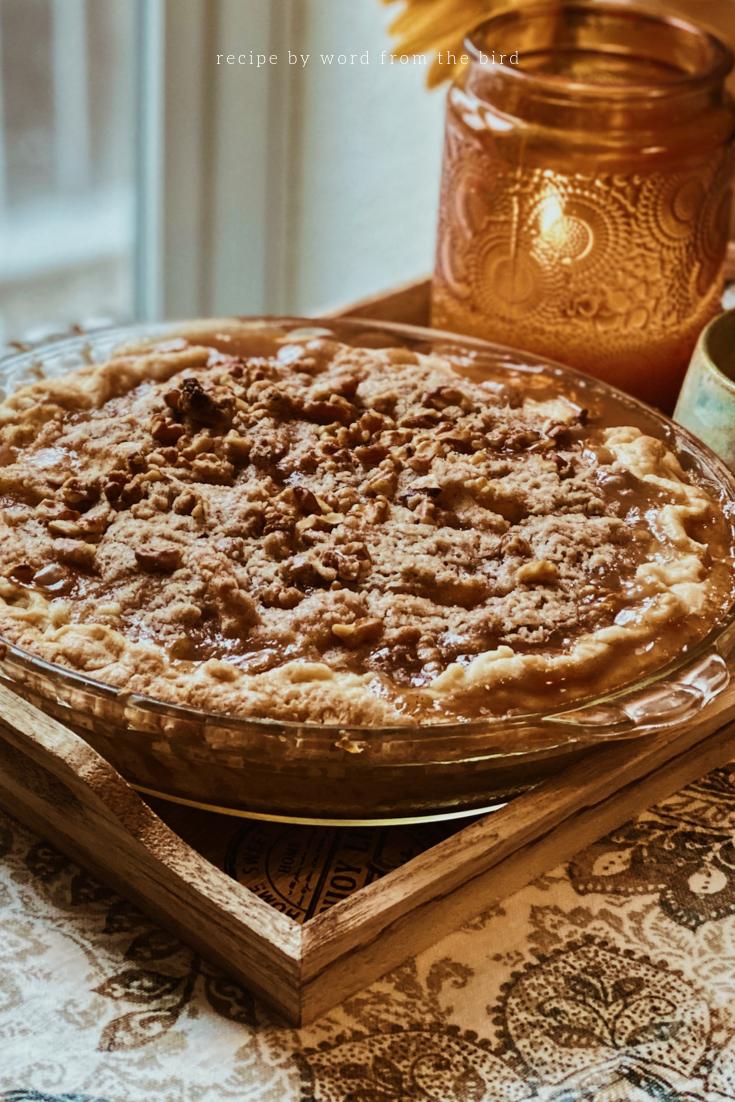 Maple Vanilla Pear Crisp recipe.