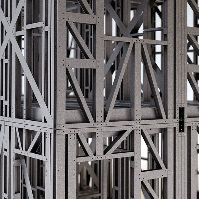 Our Precision Homes modules feature a recycled/recyclable steel superstructure, precision engineered offsite.#ukhousing #housingcrisis #affordablehomes #housing #steelframe #southwest #cornwall #innovation #tech