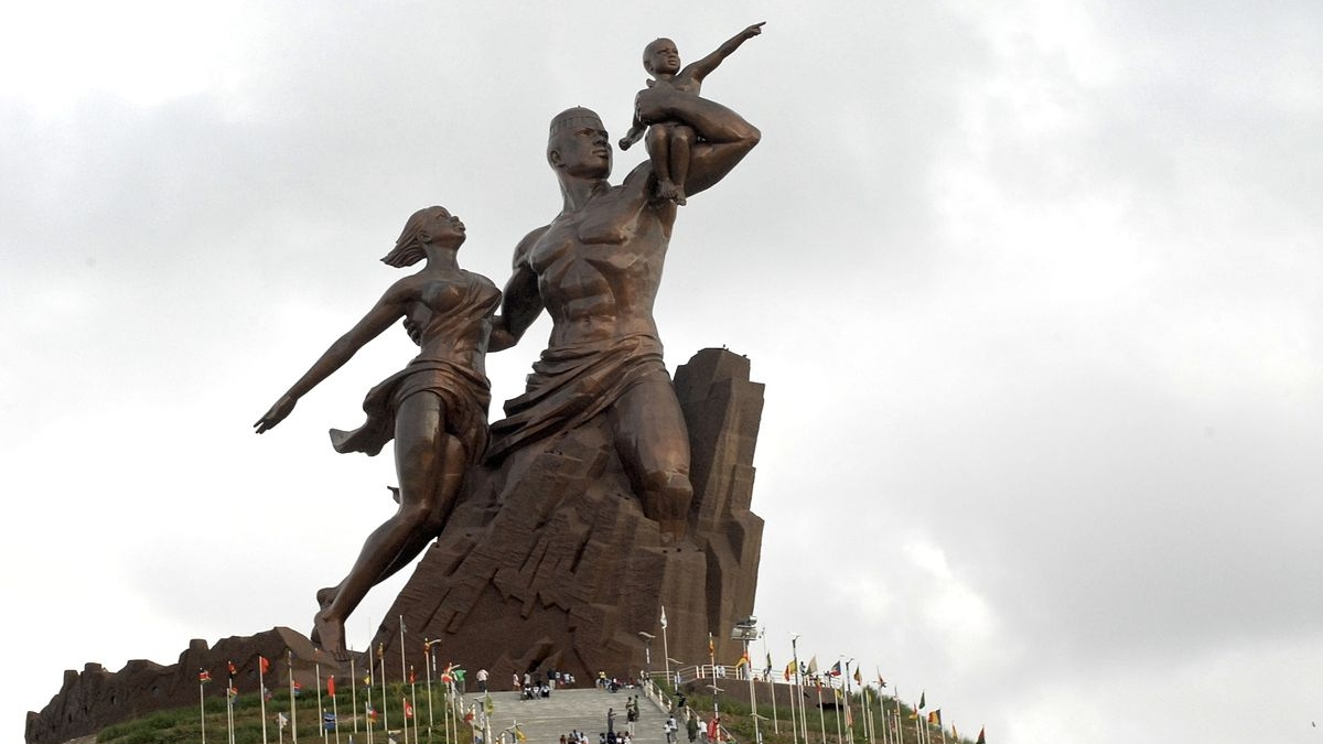 Visit the African Renaissance Monument in Dakar, the tallest statue in Africa, and learn more about Senegal's history.