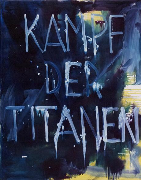 """Malerei"" oil on linen 120x100 cm 2015"