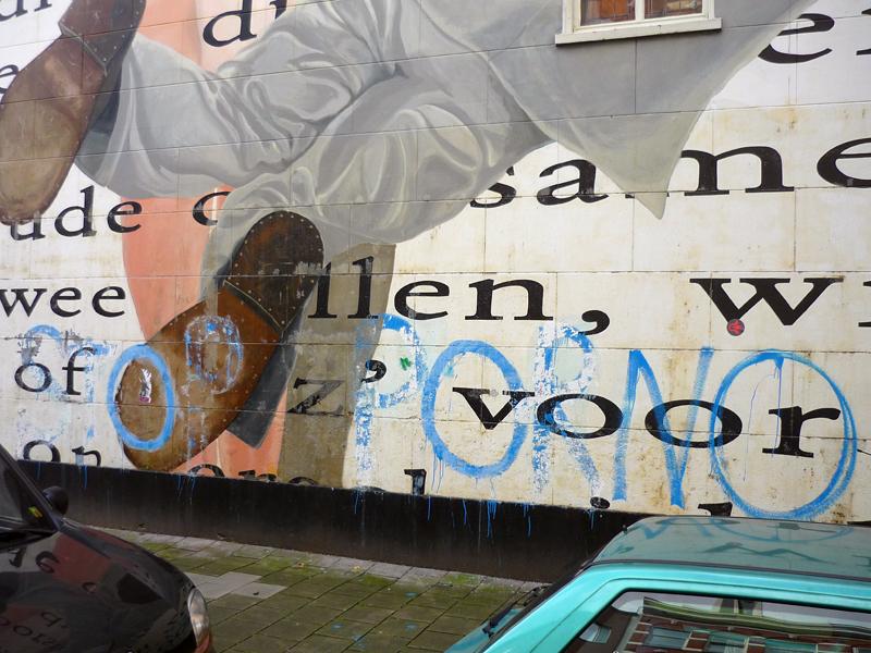 Roosje being vandalized, summer 2010
