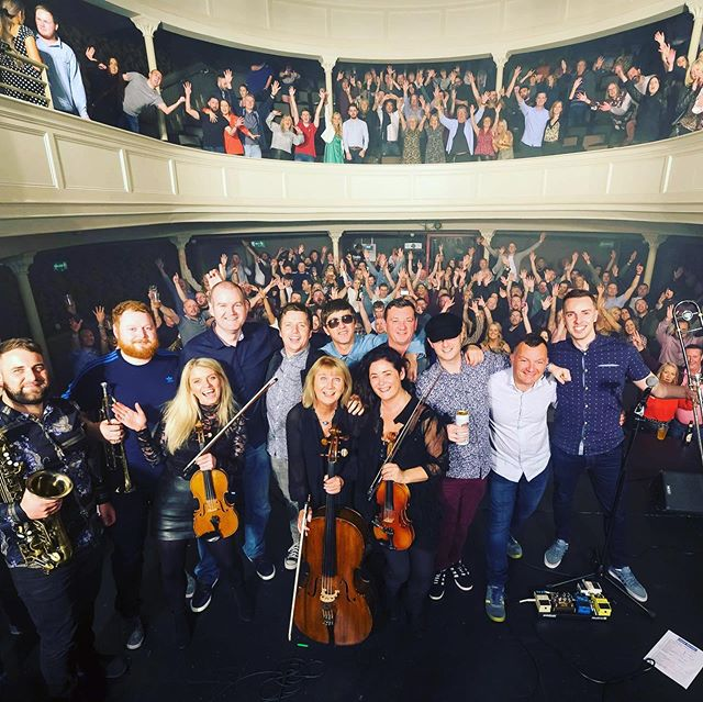 We don't do it often but when we do it's always something special. As LG would say 'That was fu*king biblical'. Thank you everyone for showing us such huge support. We were blown away by the reaction last night. Waterford was absolutely Mad Ferritt!! 😍😍🎻🎷🍻🍷🎶😎🎸 📷 @matthew.ie_photography