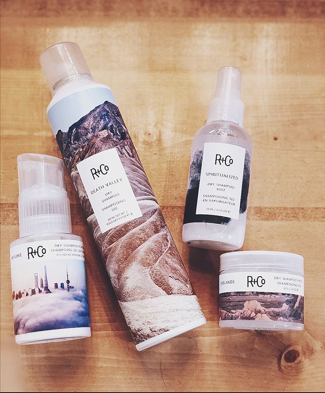 HAIR TIP: Use your favorite dry shampoo on DAY ONE hair + your hair will reject the tendency to get oily in the first place! . . @randco has a dry shampoo for every occasion - Death Valley, is the KES favorite! ✨✨ . . . #randco #dryshampoo #atlantasalon #bestsalonatlanta #hairtips
