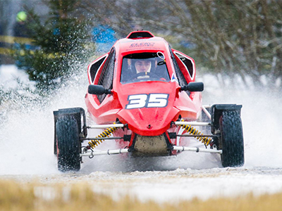 #35 Juri Ekman - Seura: HyUAAuto: Speedcar Xtrem / Suzuki