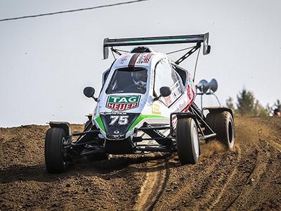 #75 Sami-Matti Trogen - Seura: LvUAAuto: Speedcar Xtrem / Suzuki
