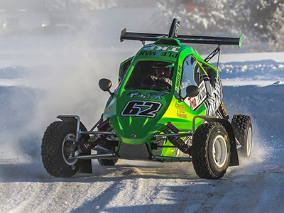 "#62 Gunnar ""Frasse"" Alm - Seura: HyUAAuto: Speedcar Xtrem / Suzuki"