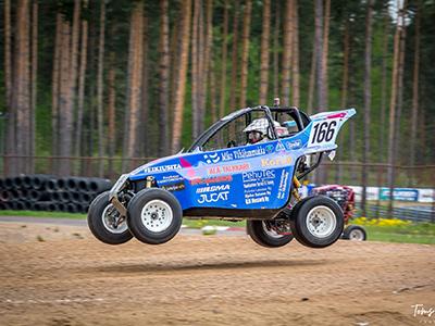 #166 Miko Vähälummukka - Seura: Al-HärmäAuto: IC R4 / KTM