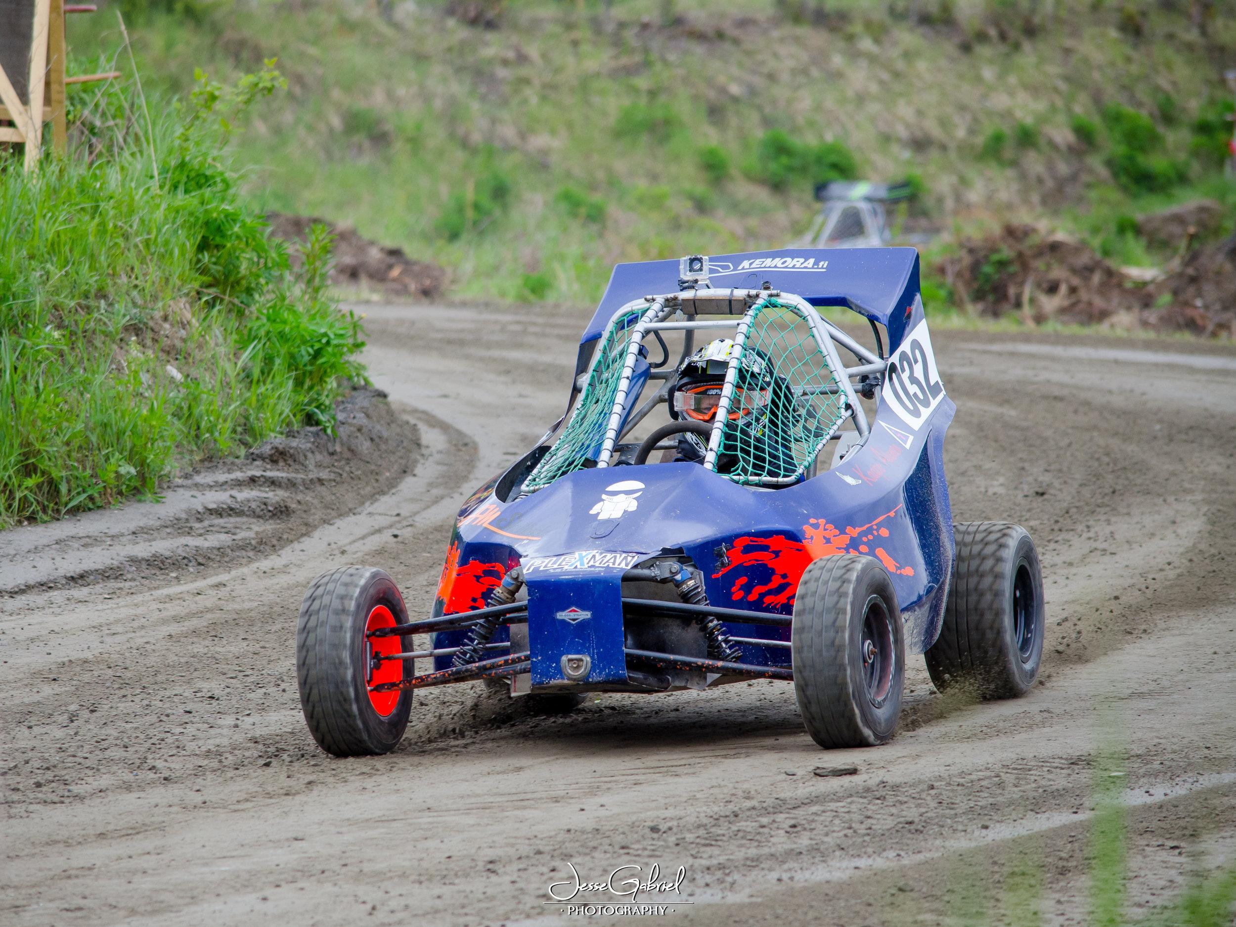 #32 Kaapo Ahonen - Seura:Auto: Mtec / Briggs&Stratton