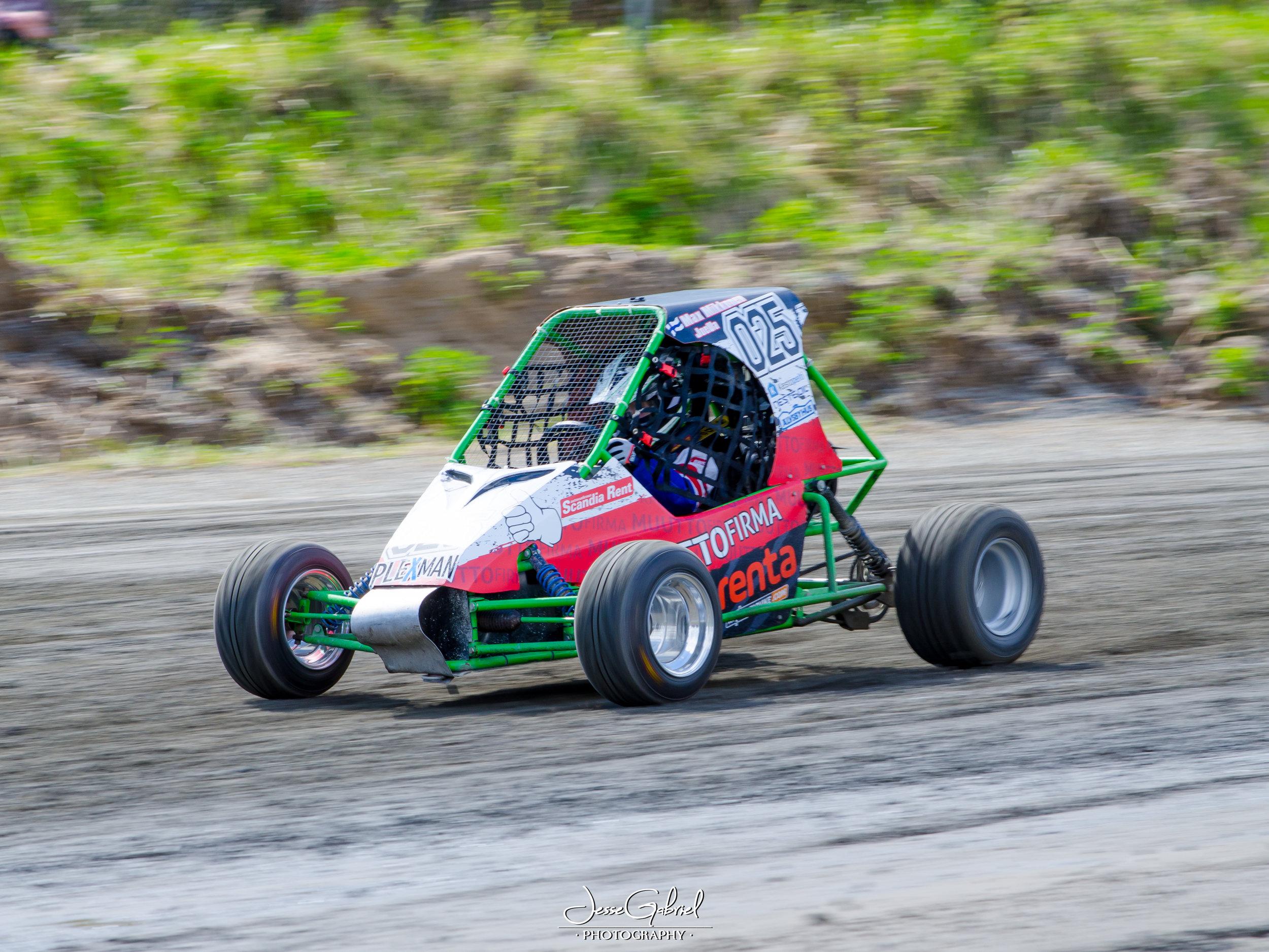 #25 Max Mikkonen - Seura:Auto: O.X Crosskart / Honda