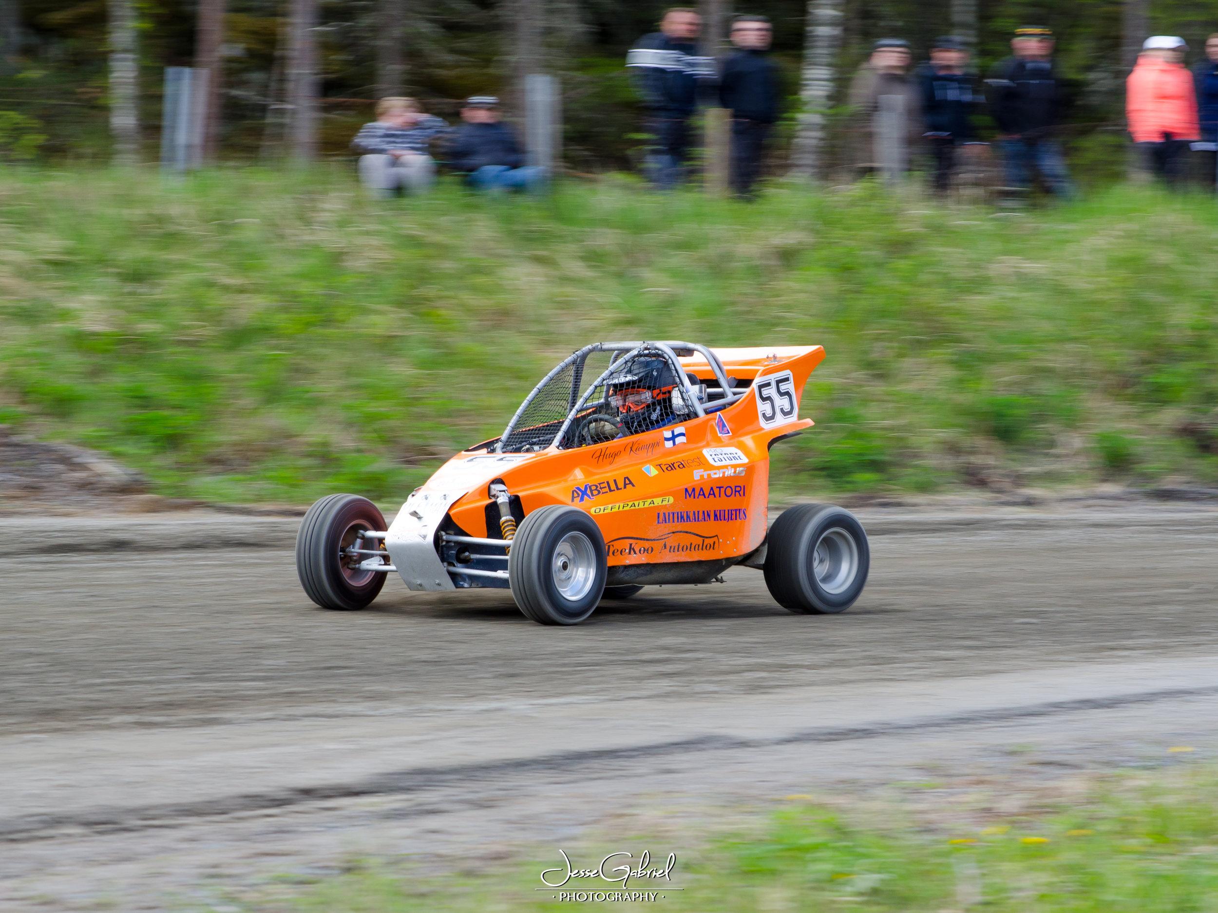 #55 Hugo Kämppi - Seura: PirKaAuto: LHR / Suzuki