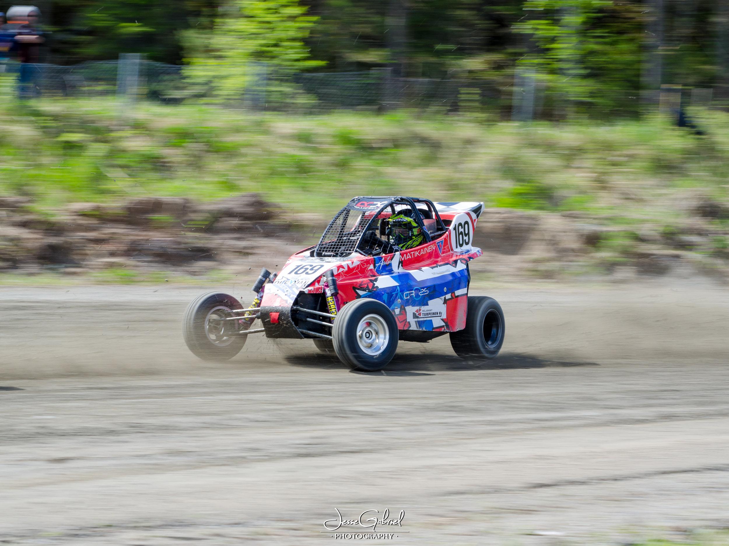 #169 Aatu Matikainen - Seura: KonnMK/UAAuto: IC R4 / KTM