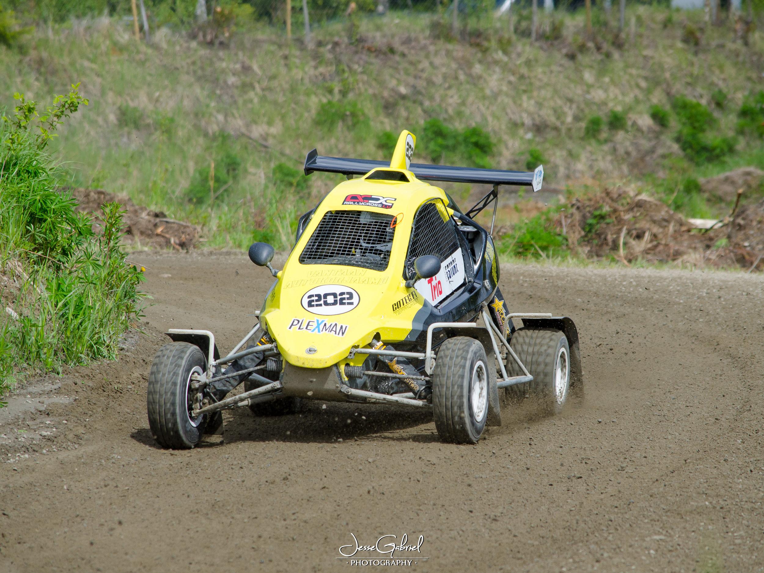 #202 Rony Kulju - Seura: HyUAAuto; Speedcar Xtrem / Suzuki