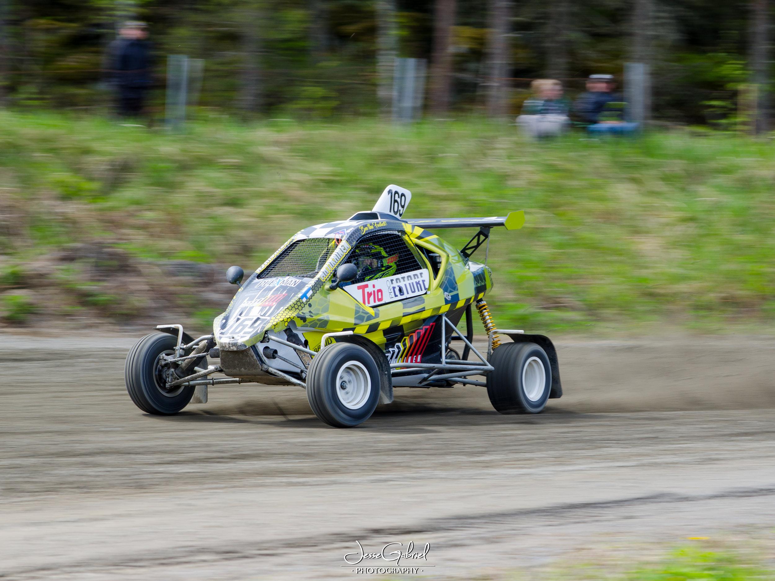 #169 Aatu Matikainen - Seura:Auto: Speedcar Xtrem / Suzuki