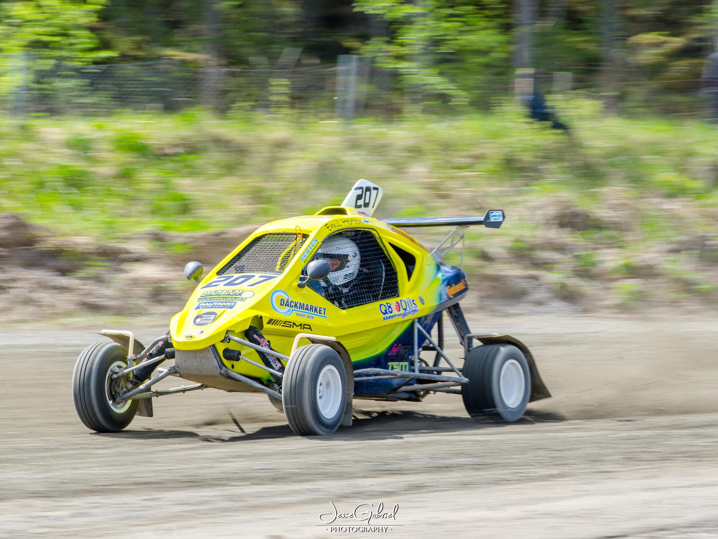 #207 Emil Hertén - Seura: NNSBAuto: Speedcar Xtrem / Suzuki