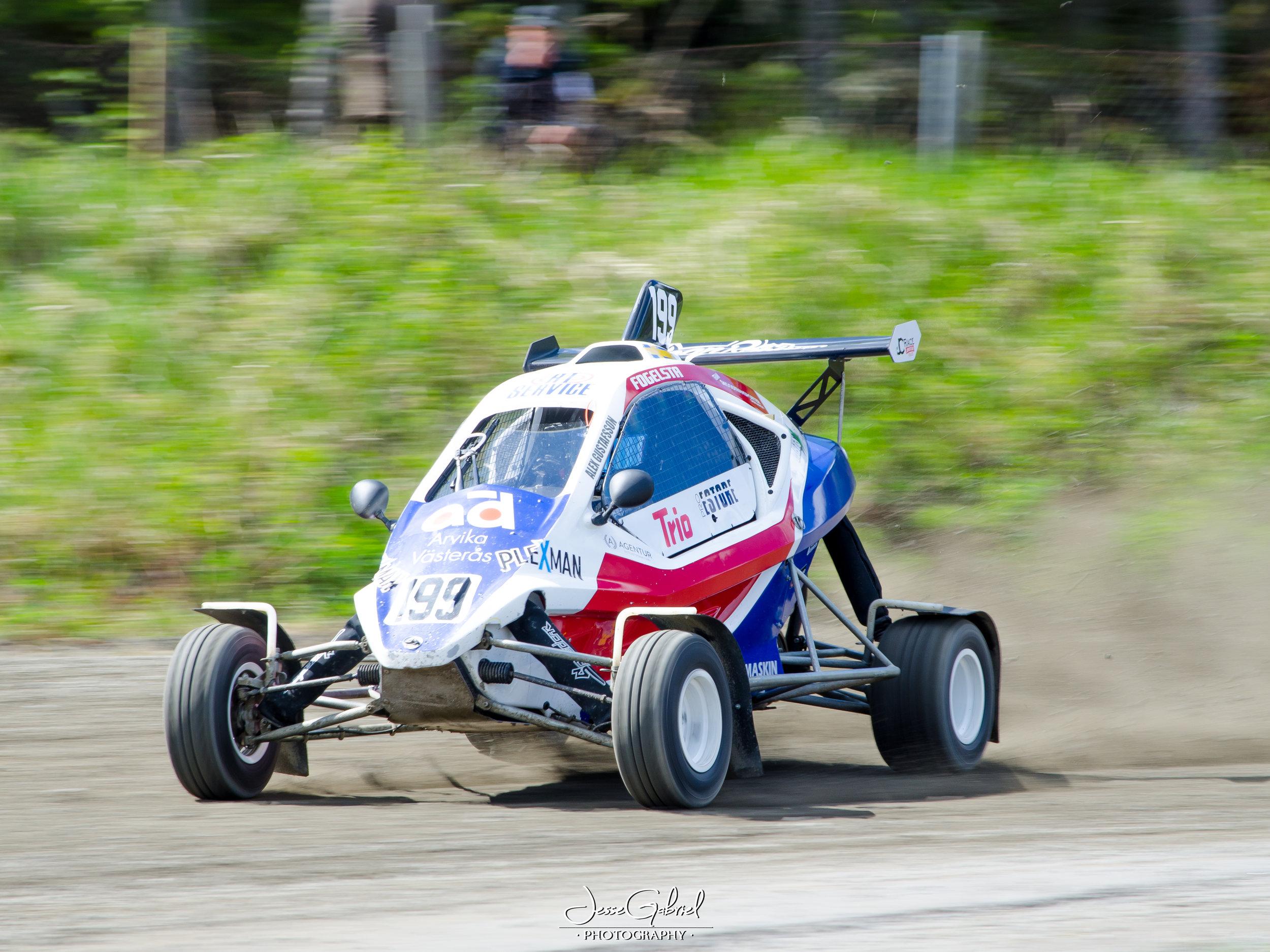 #199Alexander Gustafsson - Seura:Auto: Speedcar Xtrem / Suzuki