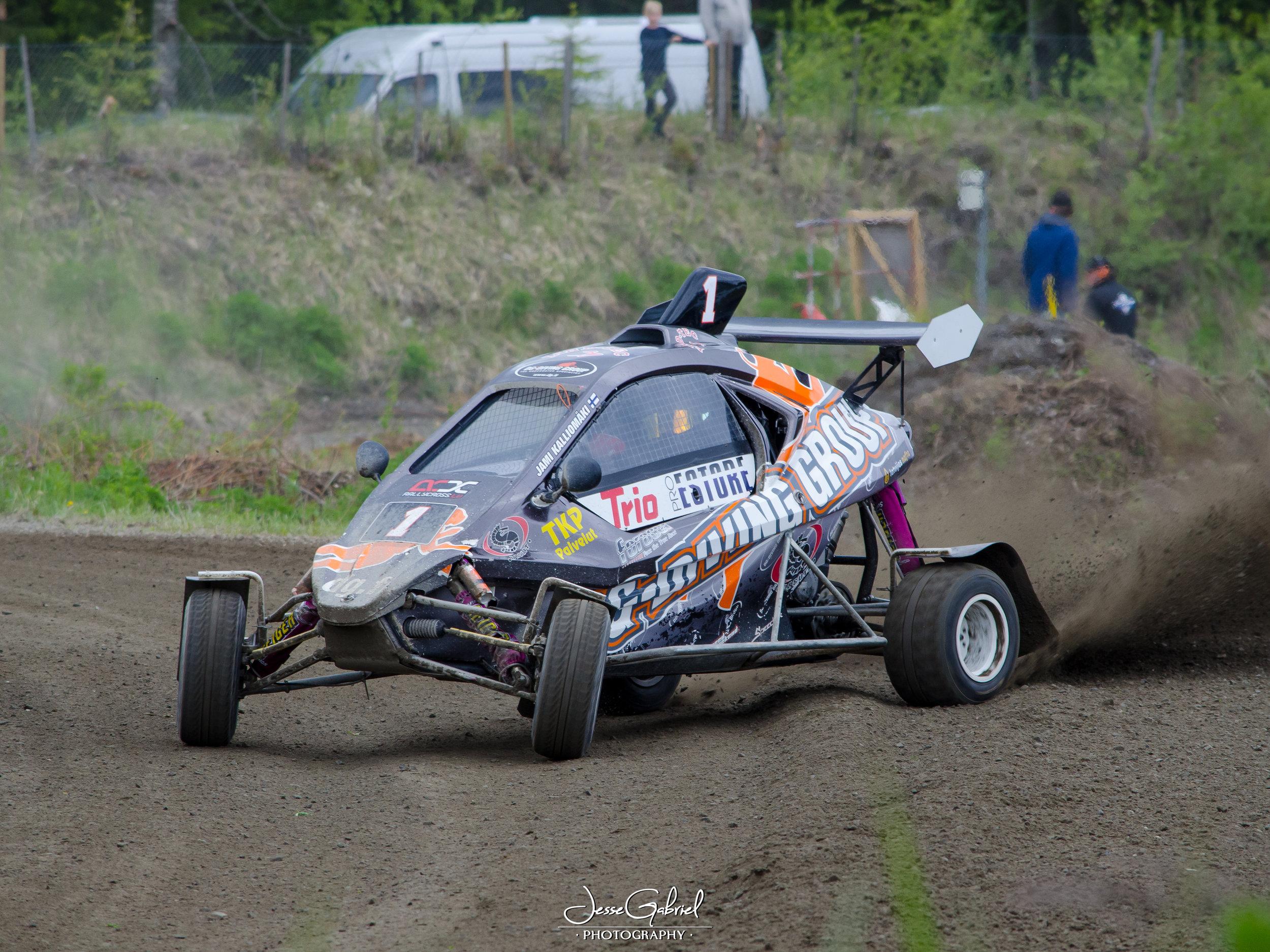 #1 Jami Kalliomäki - Seura: HyUAAuto: Speedcar Xtrem / Suzuki