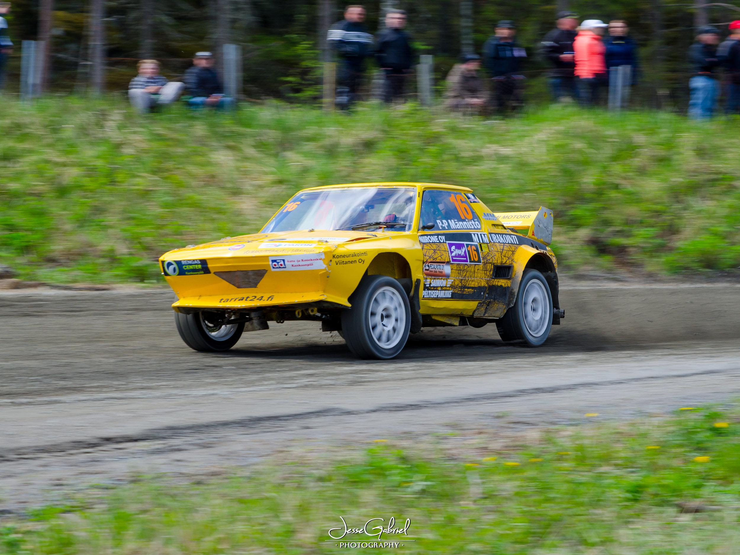 #16 Paavo-Petteri Männistö - Seura: KankUAAuto: Fiat X1/9