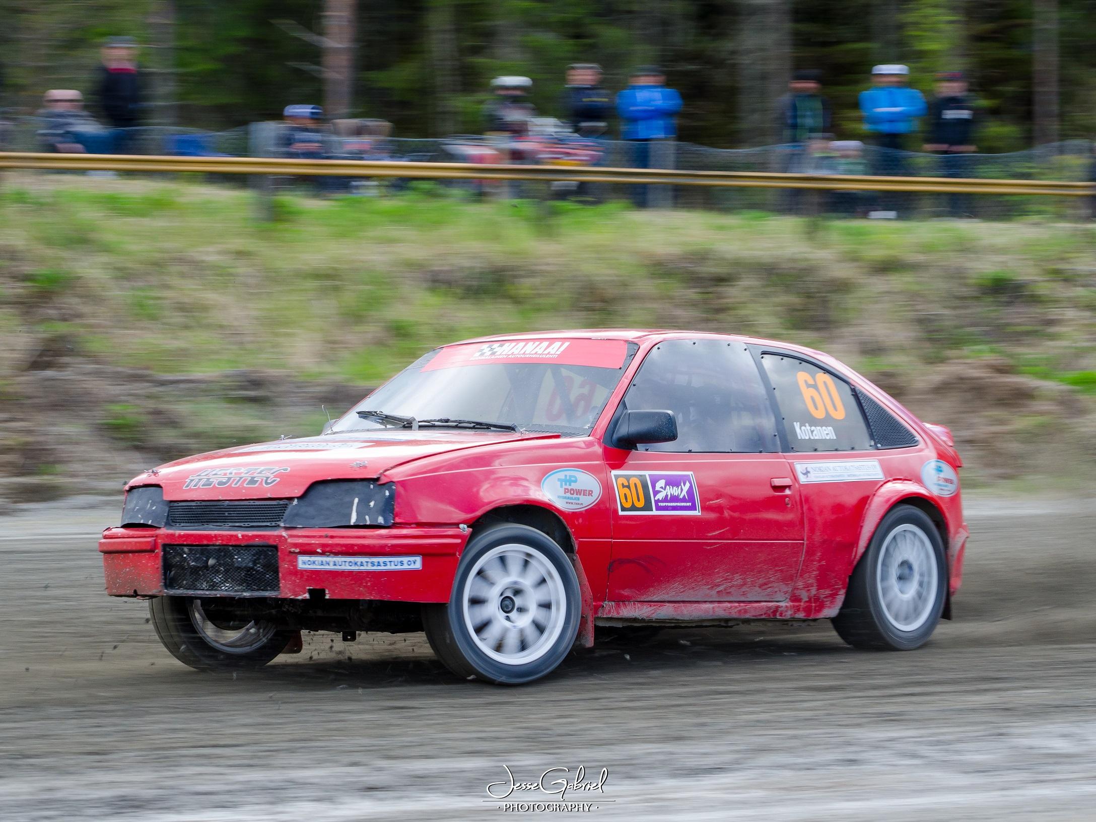 #60 Rauno Kotanen - Seura: NokUAAuto: Opel Kadet