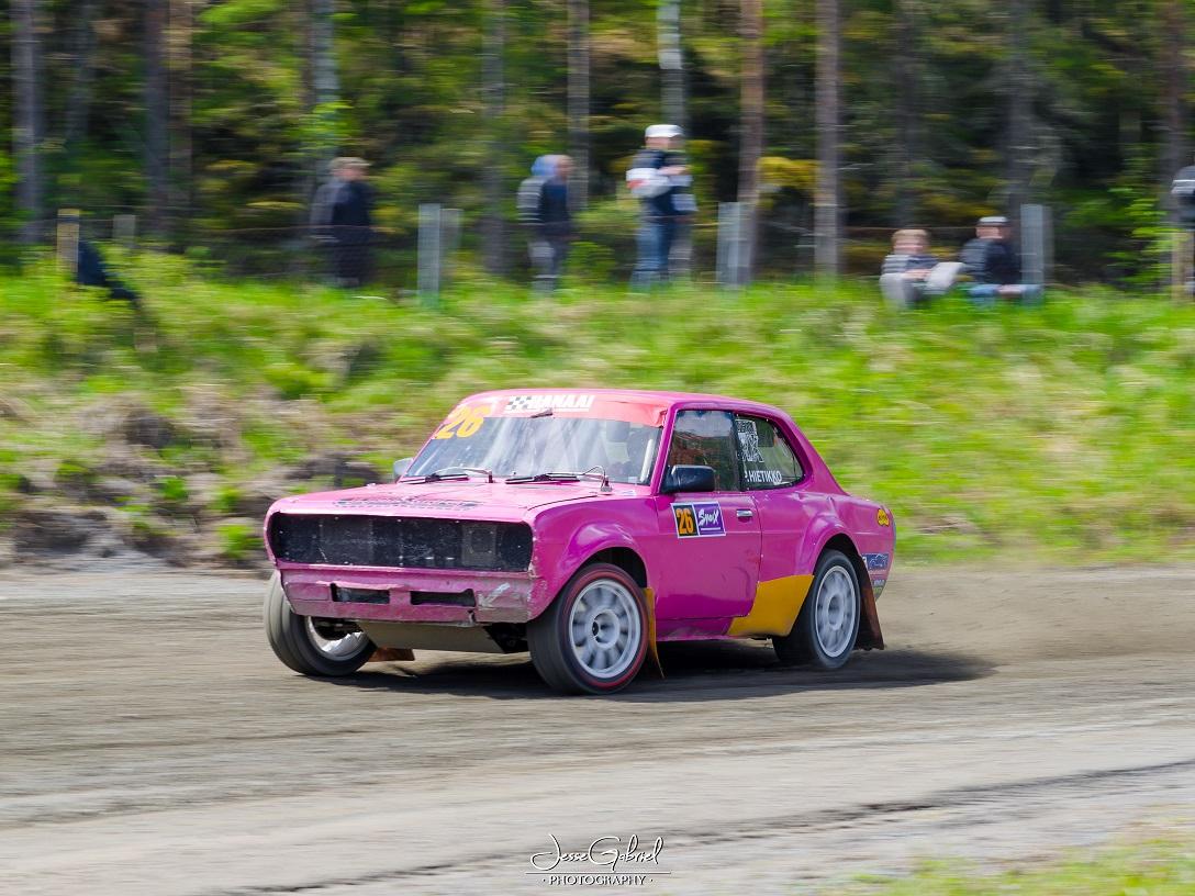 #26 Patrick Hietikko - Seura: HoMK/UAAuto: Datsun Finn