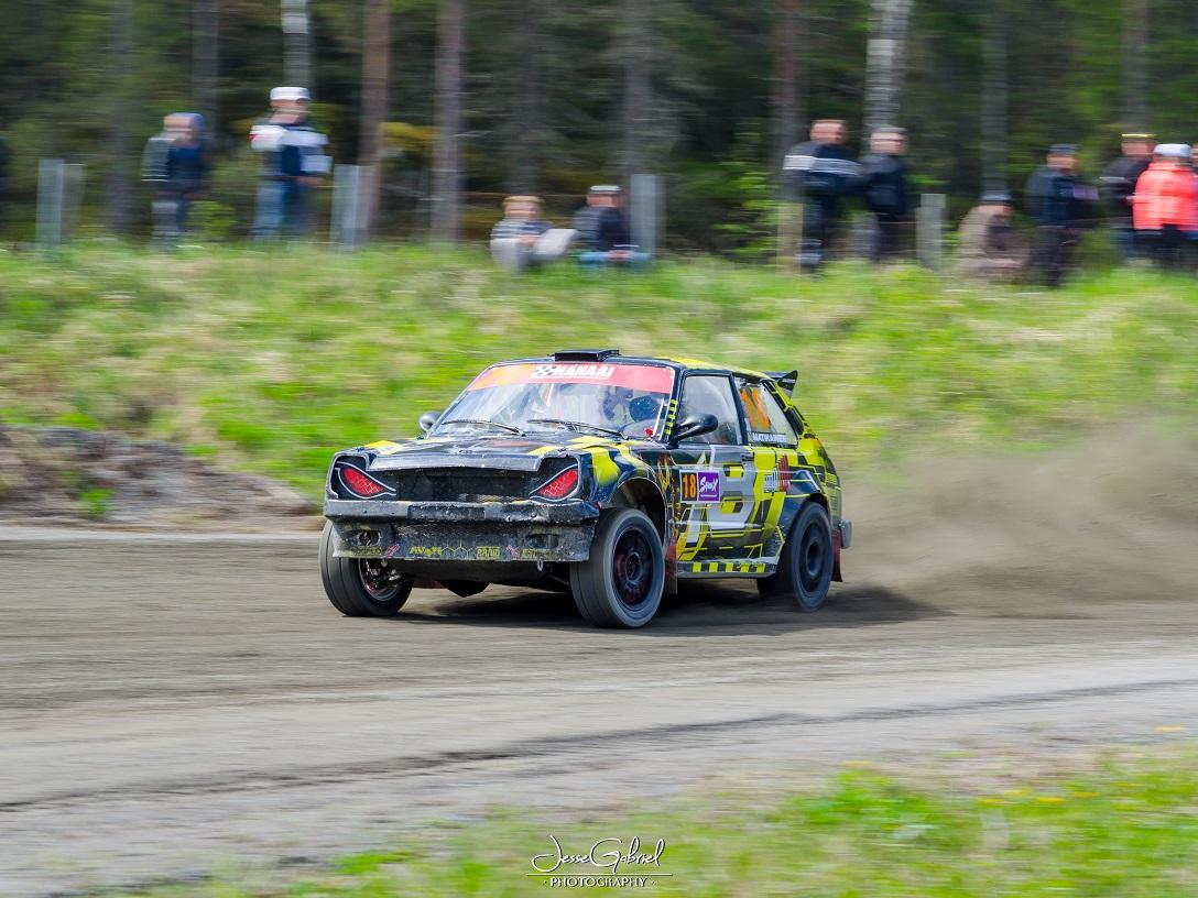 #18 Marko Matikainen - Seura: KonnMK/UAAuto: Toyota Starlet