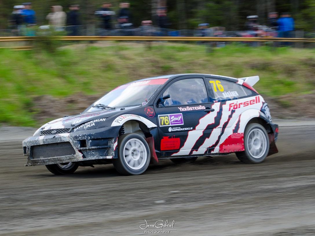 #76 Sami Räsänen - Seura: JoeUAAuto: Ford Focus