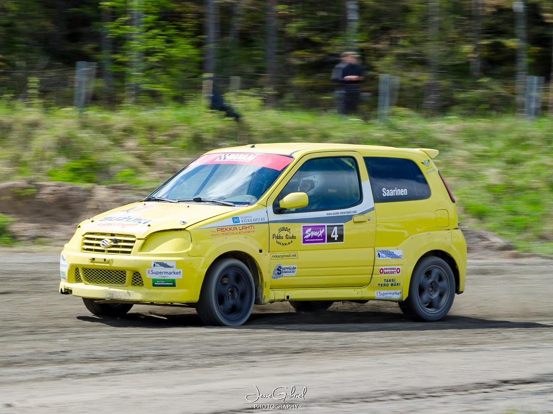 #4 Konsta Saarinen - Seura: OrSUAAuto: Renault Clio 1600