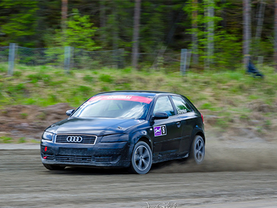 #8 Hannu Borenius - Seura: SaloUAAuto: Audi A3