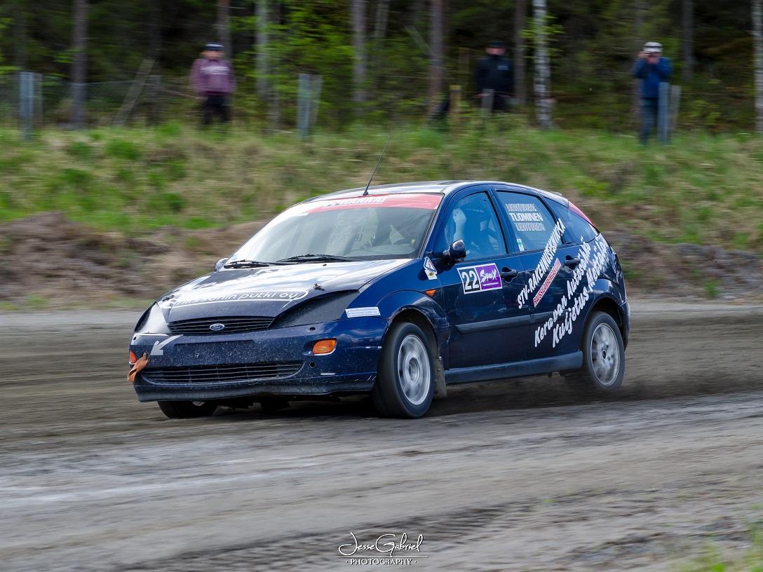 #22 Ville Tuominen - Seura: ELIMÄEN MUAuto: Ford Focus