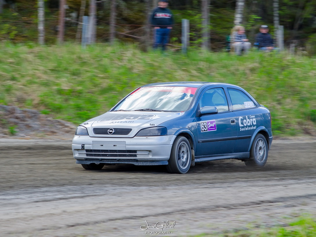 #63 Antti Kallio - Seura:Auto: Opel Astra G CC /