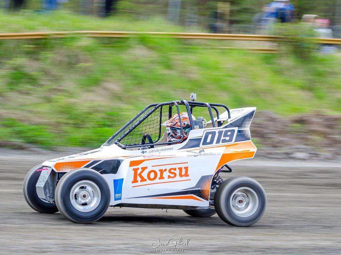 #19 Justus Häkkinen - Seura: RaaUAAuto: Norcart / Briggs&Stratton