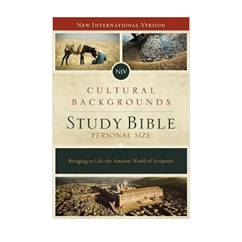 Cultural Backgrounds Study Bible - If you are looking for a sound study Bible, we highly recommend this book.