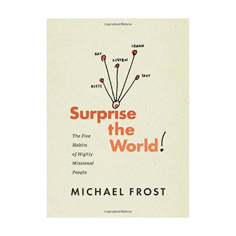 SURPRISE THE WORLD - This book offers practical ways to grow in your walk with Christ and to serve others. It equips you with tools to help you spread the Gospel organically, graciously and surprisingly..