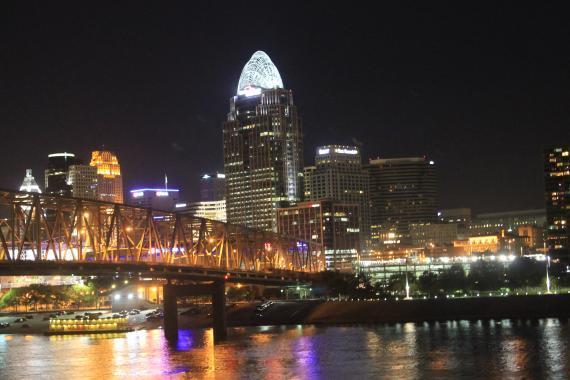 Cincinnati Skyline   10.18.13.
