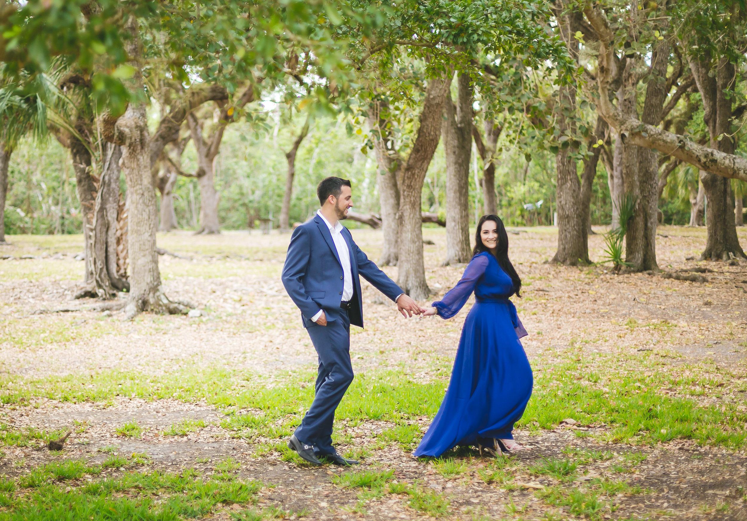 Matheson Hammock Engagement Photos - Dipp Photography