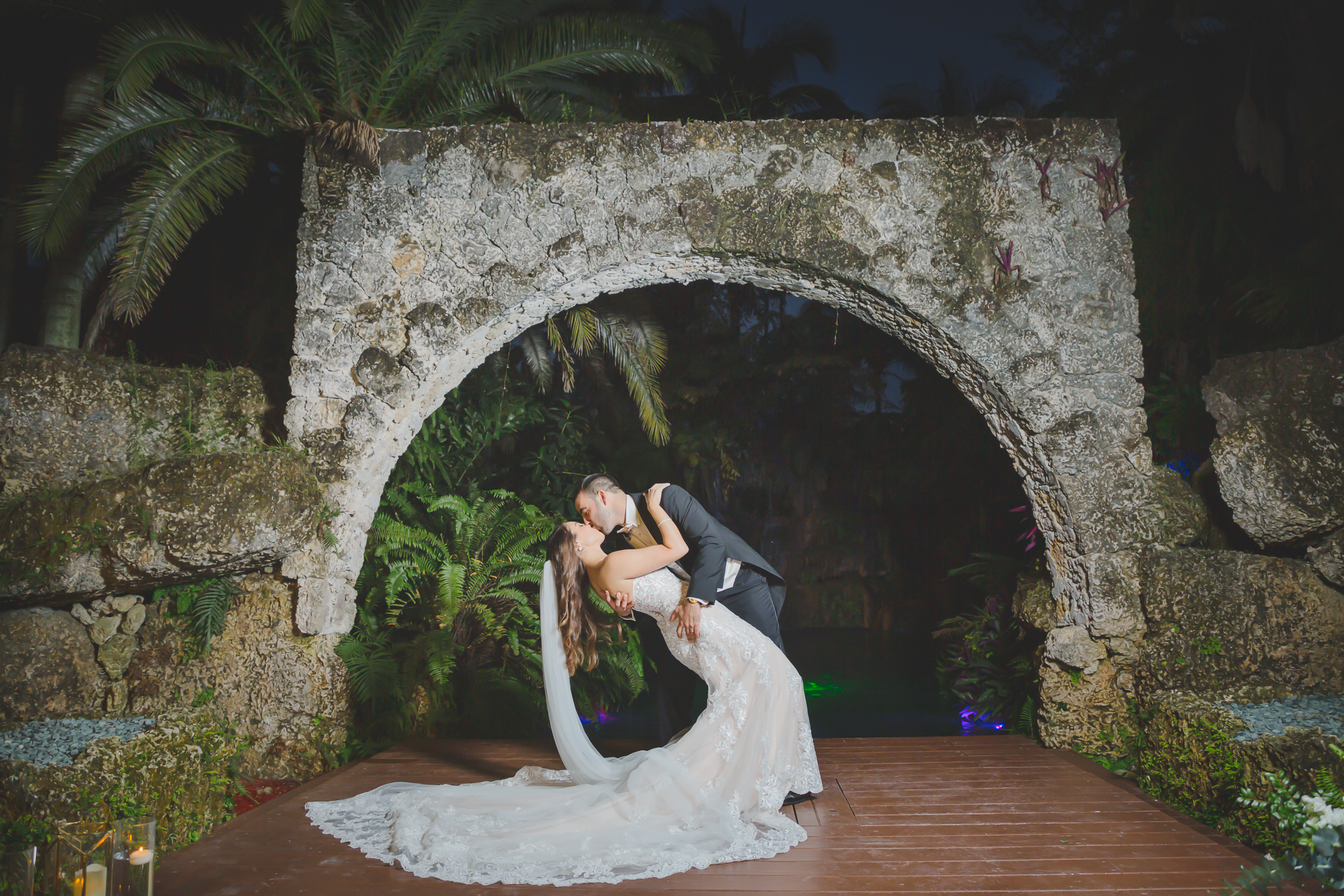 Secret Gardens of Miami Wedding - Miami Wedding Photographer - Dipp Photography