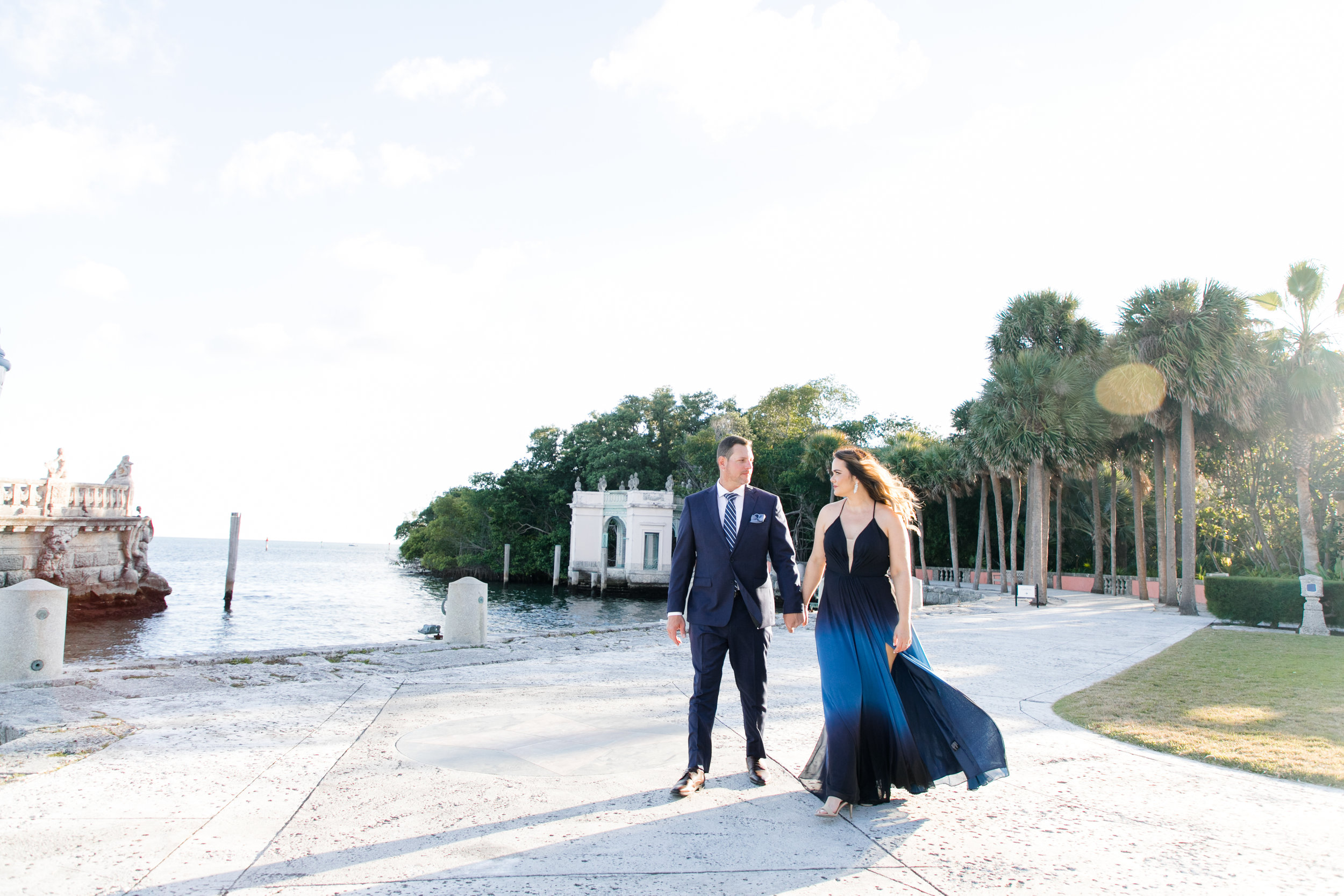 Vizcaya Museum and Gardens Engagement Photos