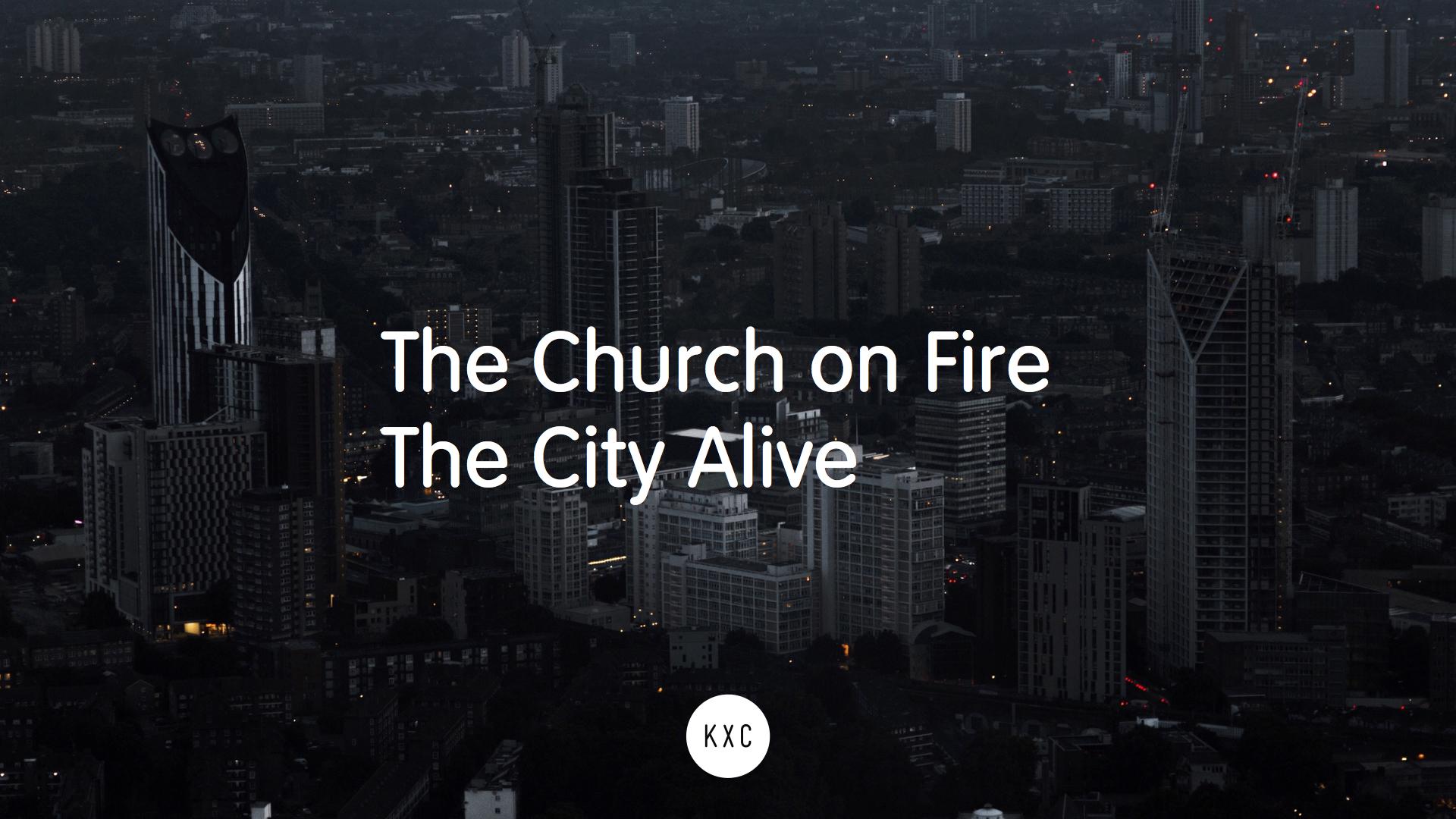 Church on fire, city alive.jpg