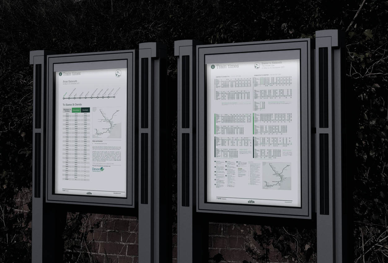 thesolarcase - Made-to-measure, thesolarcase is a post-mounted illuminated information display case. It is ideal for sign lighting, bus stops, railway stations, cinemas, museums, or outside business premises.