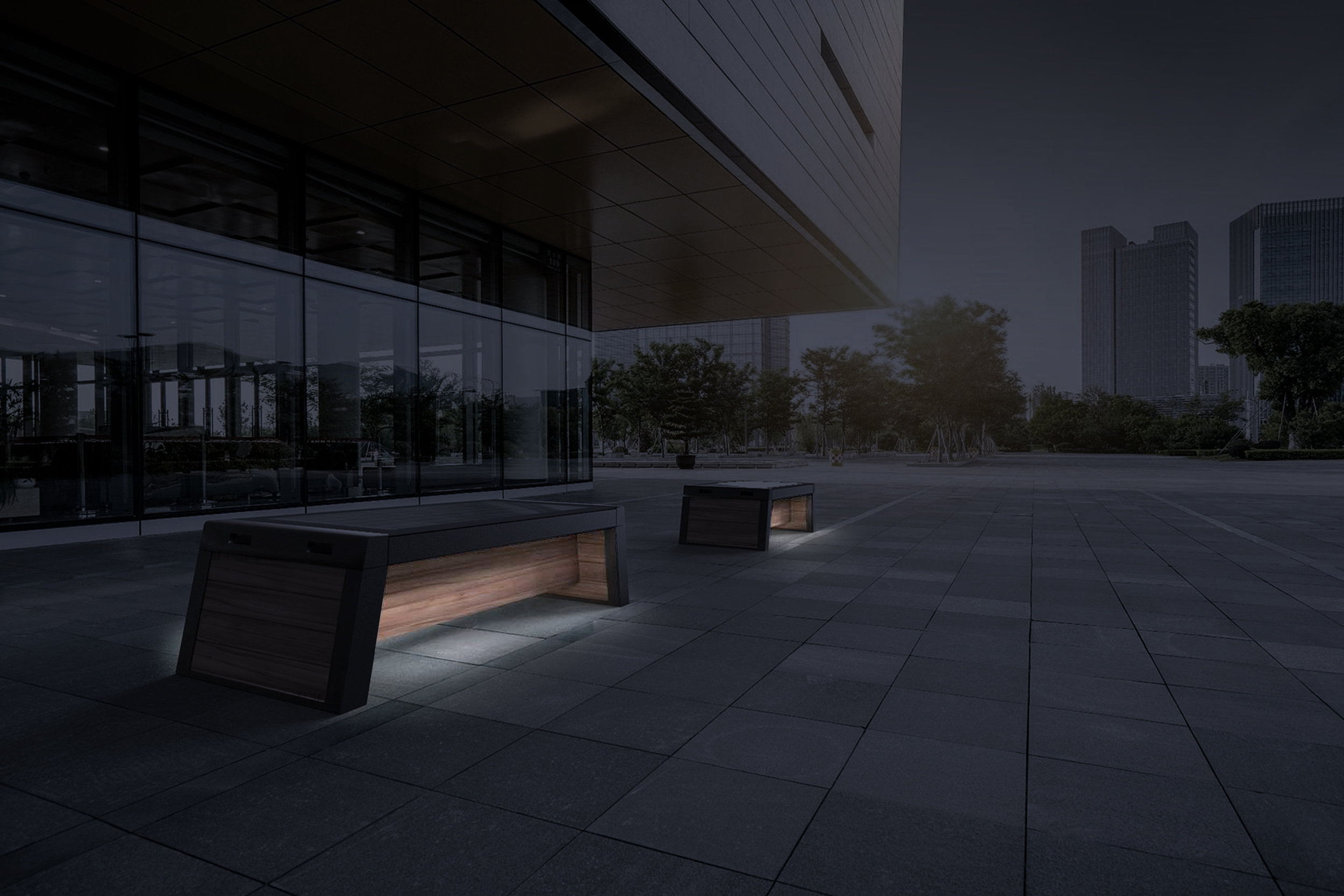 thesolarsmartbench - A versatile illuminated outdoor bench