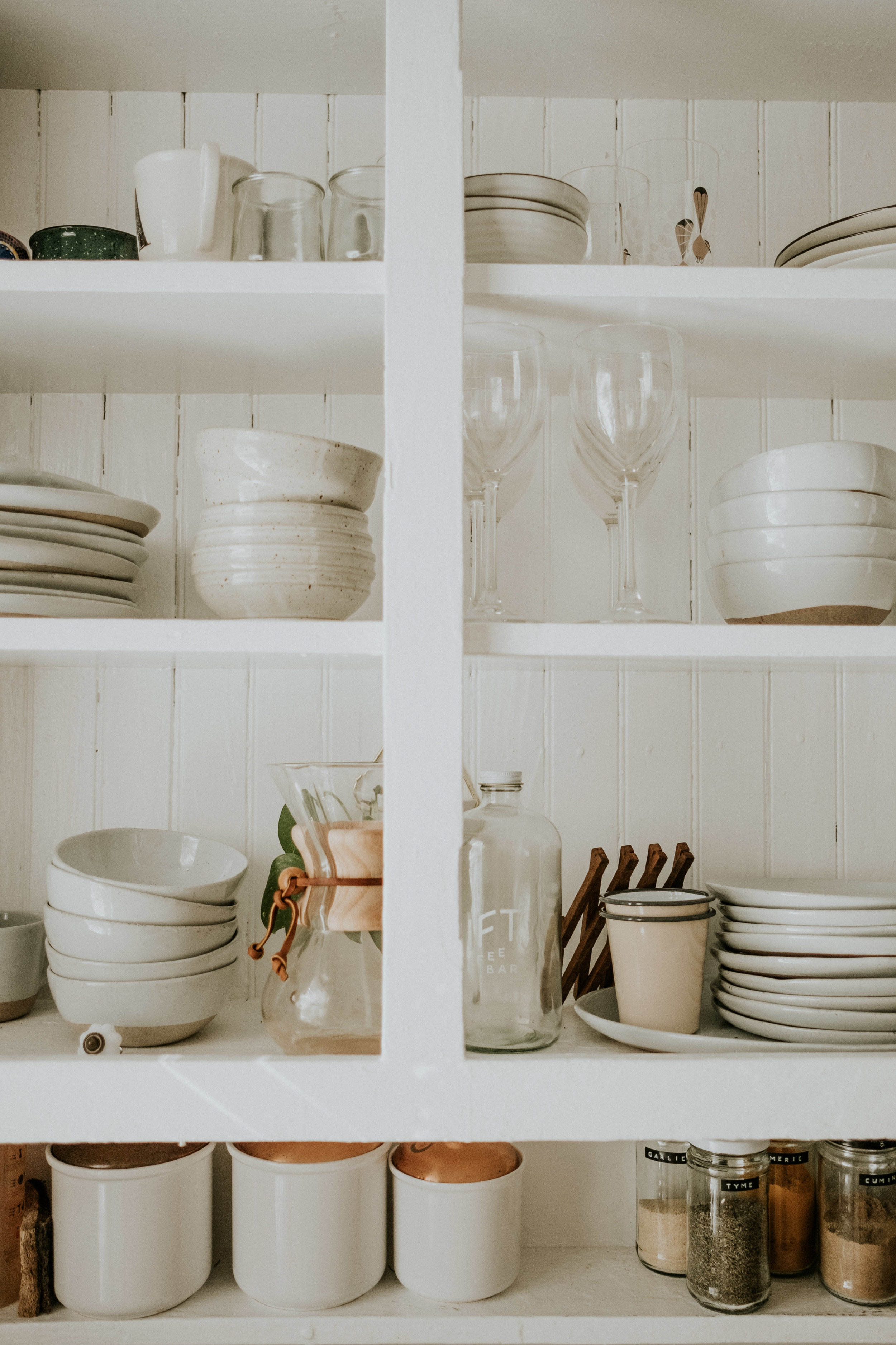 Dishware:  Crate and Barrel