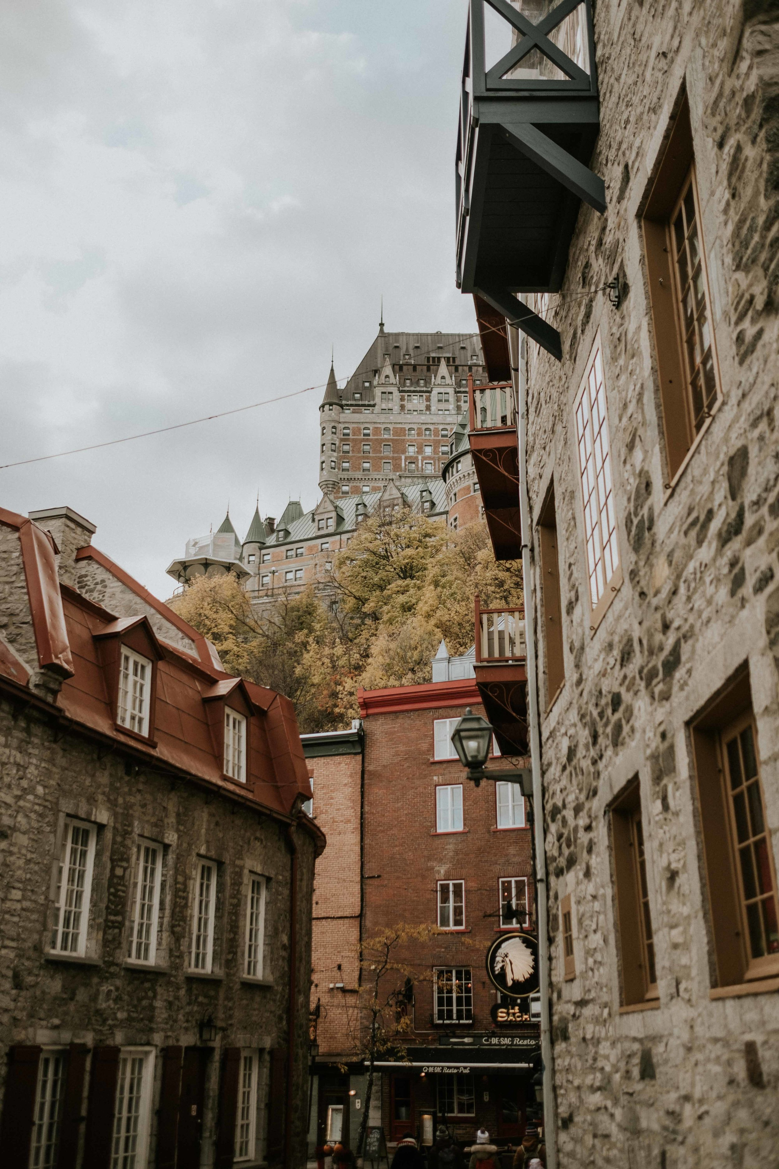 Quebec City. Such a stunning place.