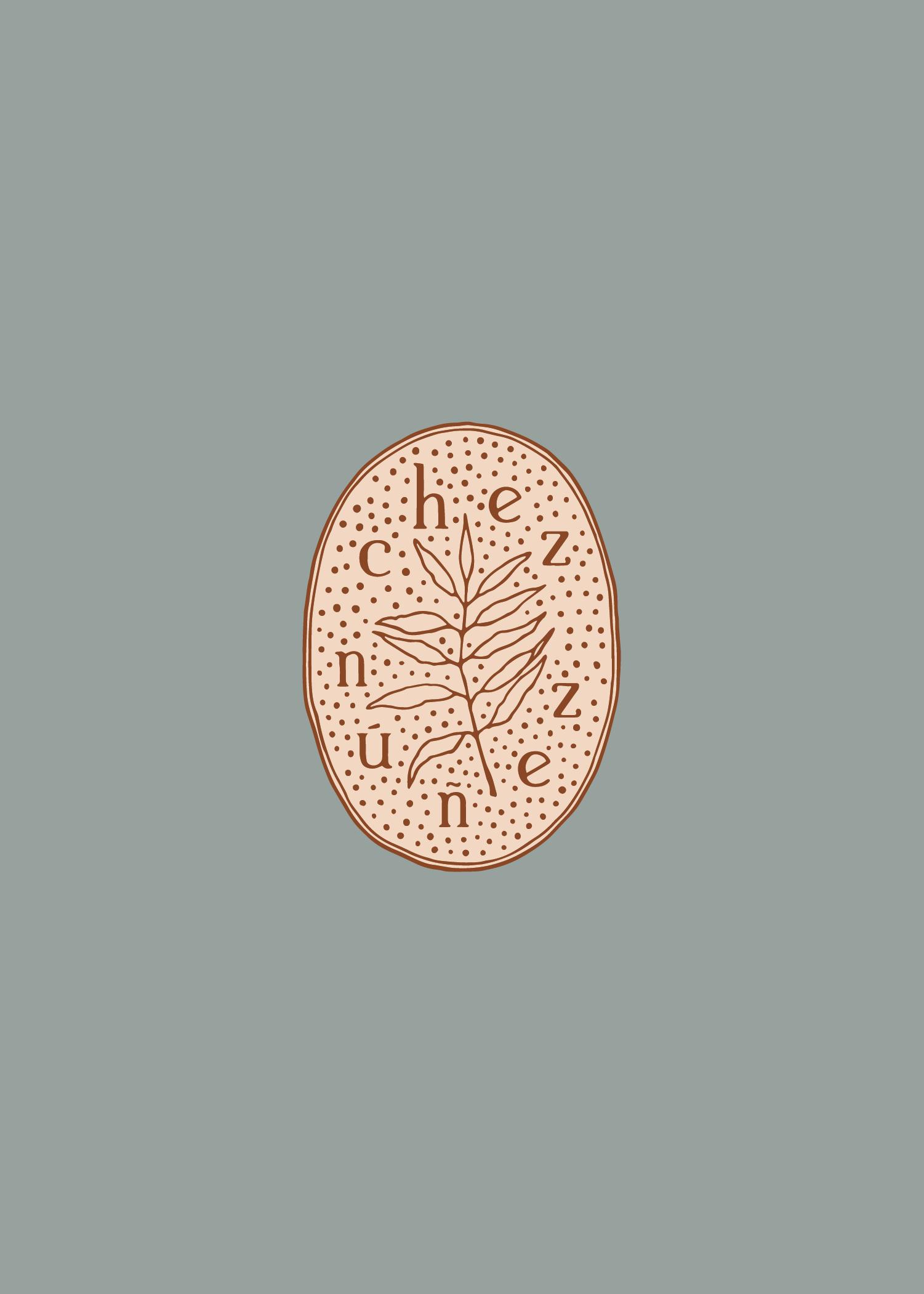 chez nunez branded design - logo