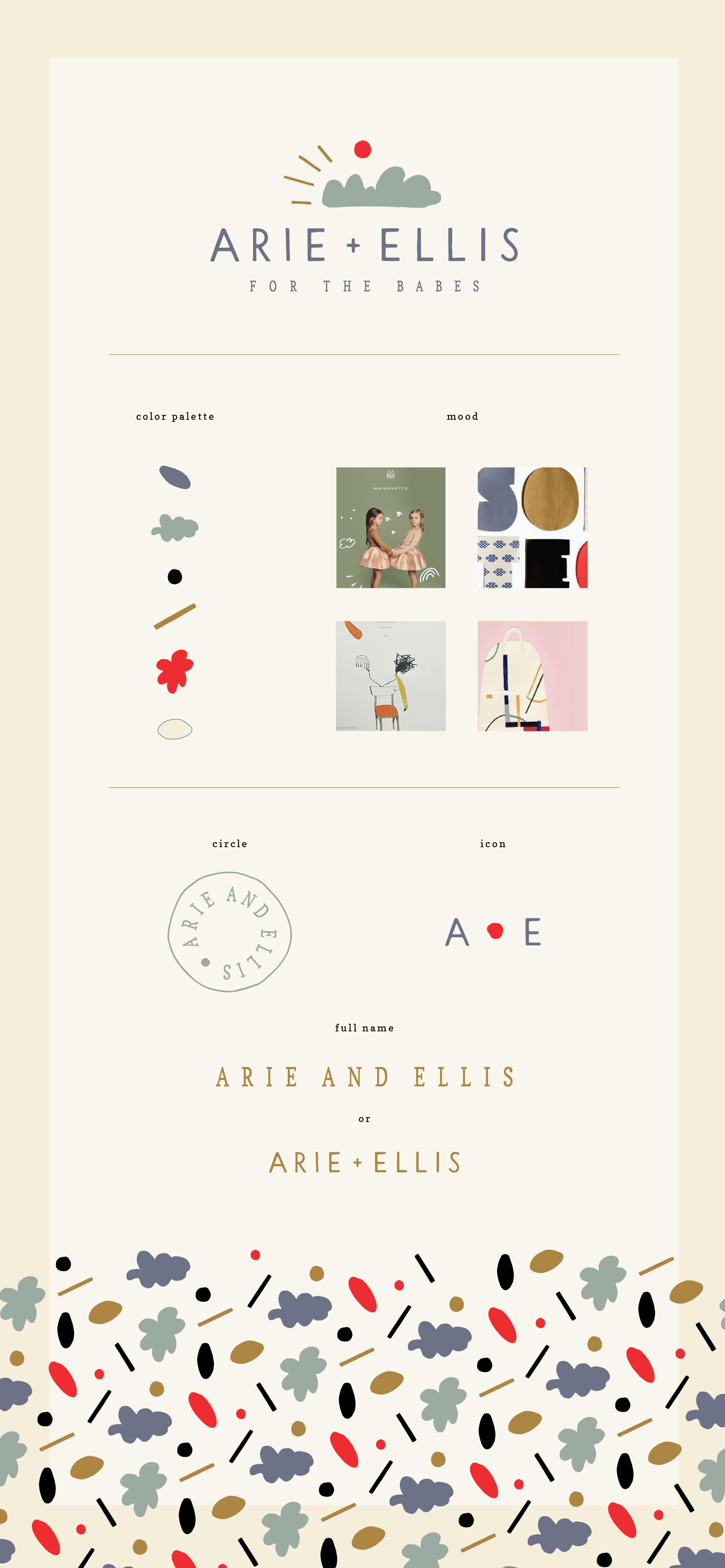arie and ellis brand by chez nunez