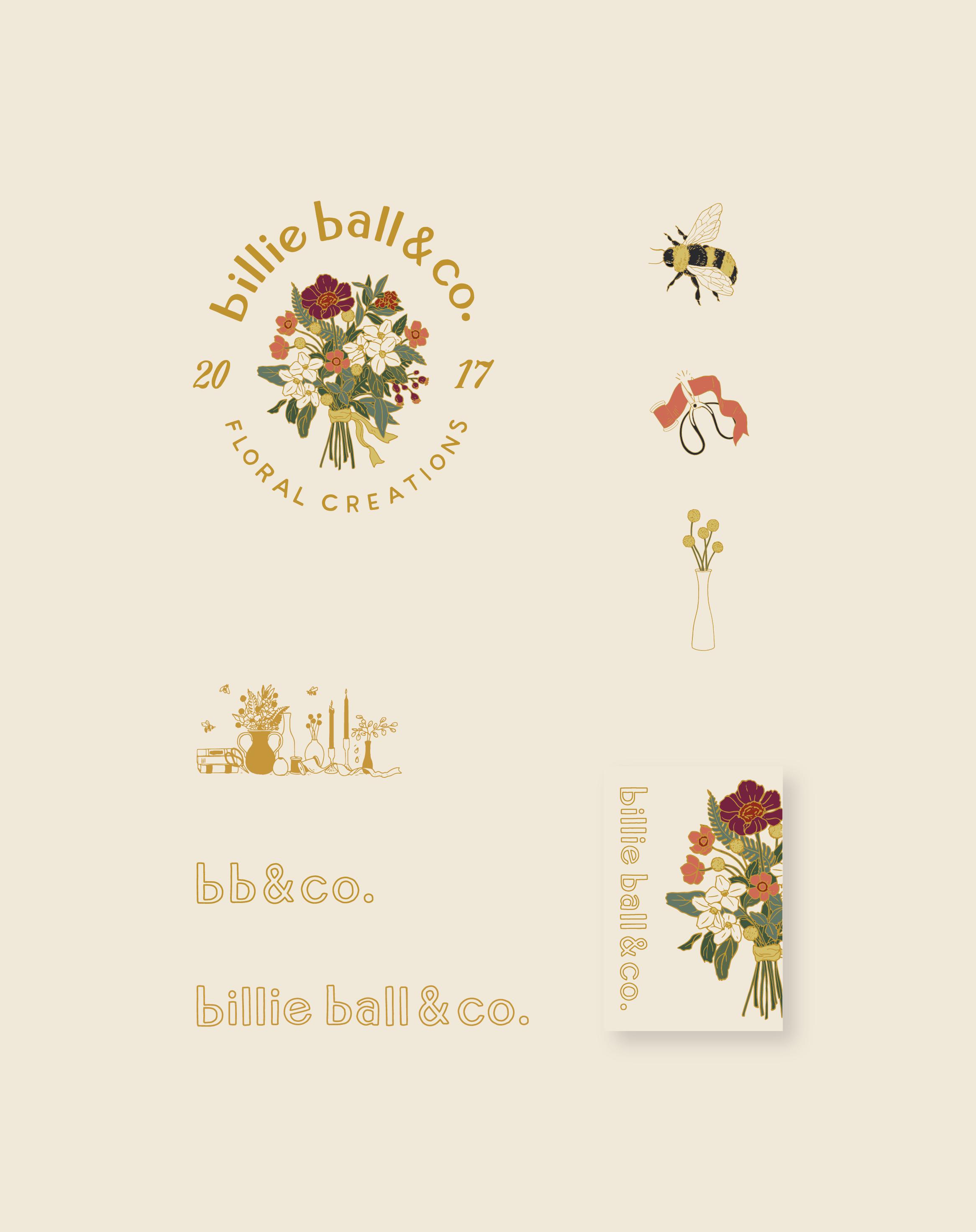 billie ball & co. | Branding