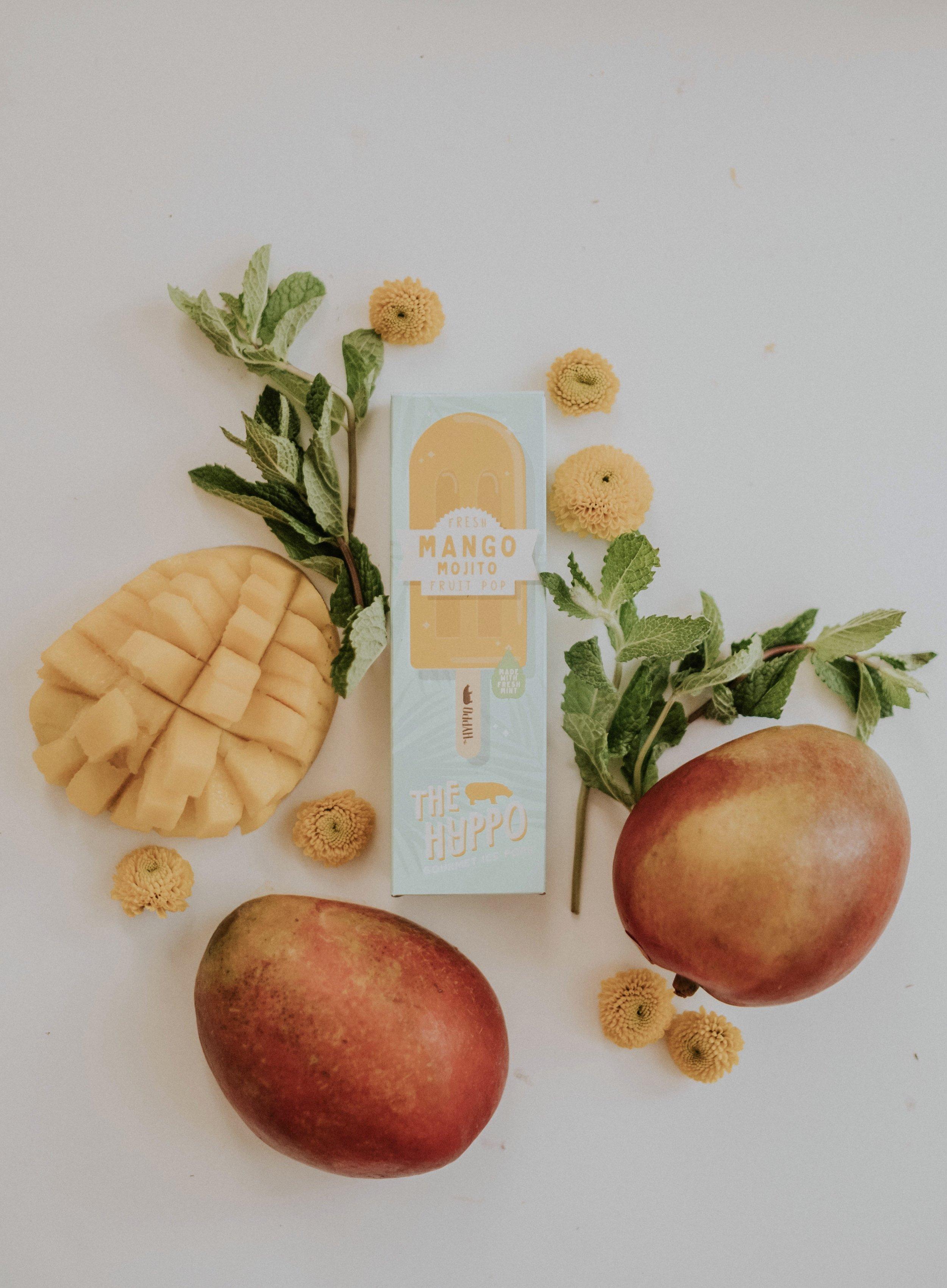Mango Mojito Fruit Pop: Amanda's favorite pop!